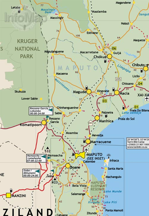 south africa travel guide pdf
