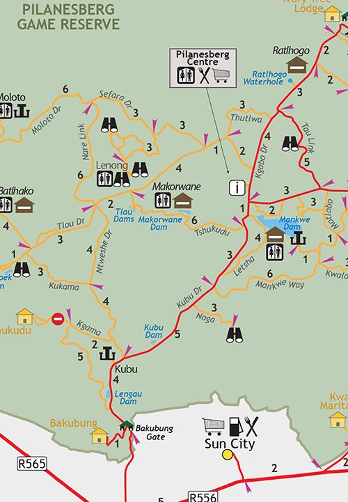 South Africa Digital Pdf Map Infomap