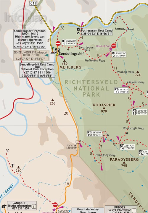 Richtersveld namaqualand map digital pdf with gps coordinates richtersveld web cover pdf richtersveld whole map richtersveld map1 gumiabroncs Gallery