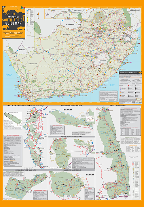 Maps South Africa.South Africa Digital Pdf Map